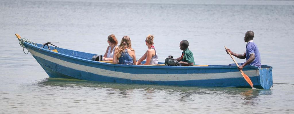 Tourism at Kalangala (The paradise Uganda) in the Pearl of Africa (Uganda)